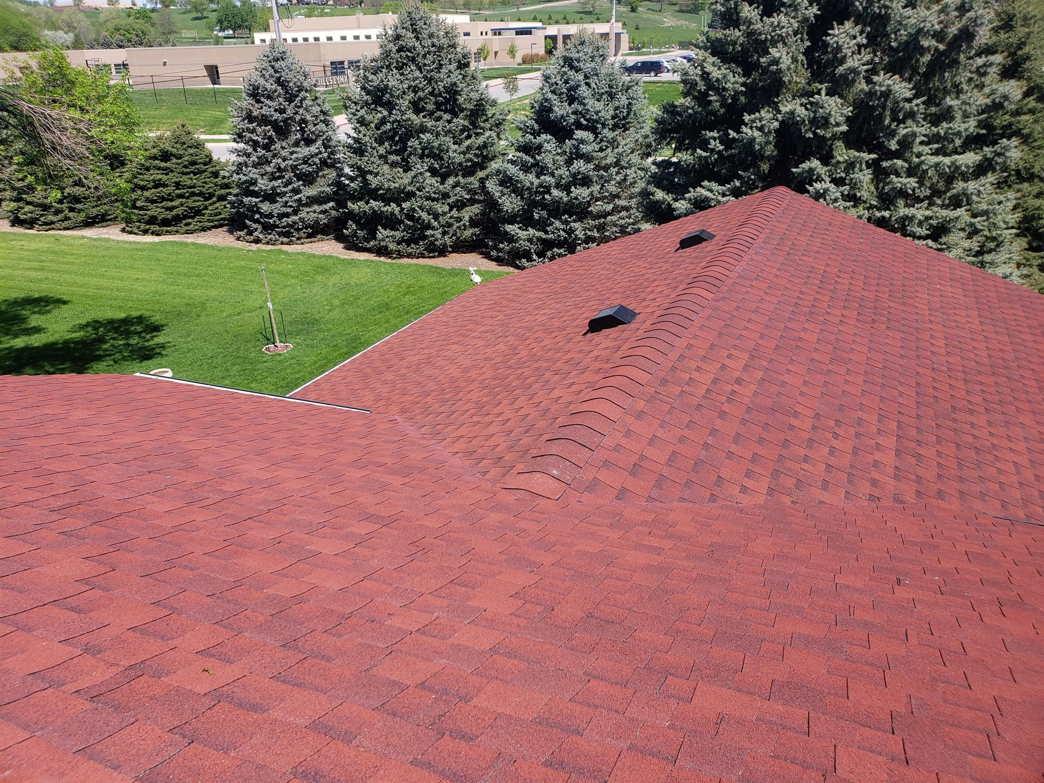 casey roofing sioux city hail damage roof inspection